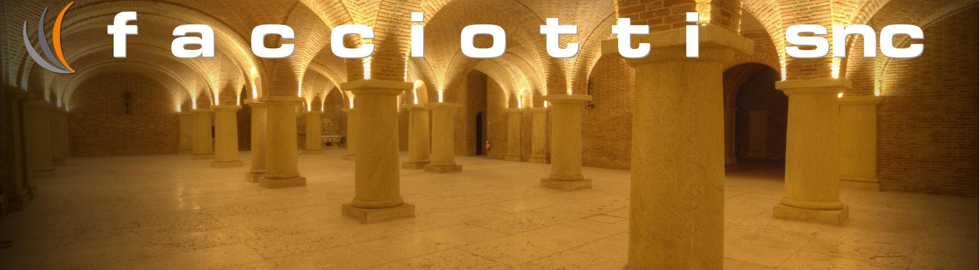 Colonne in pietra della lessinia colonne in pietra di for Archi arredo